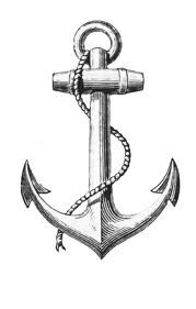tattoo Anchor Personally, I'm not someone to get a tatoo, but for those of you who are, this one is SO cool -- SOMEONE GET IT! Home Tattoo, I Tattoo, Bird Tattoos, Tattoo Outline, Feather Tattoos, Forearm Tattoos, Maritime Tattoo, Anchor Drawings, Anchor Sketch