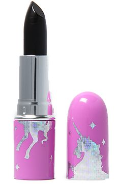 Your makeup should be dark. But there's no reason the case can't be covered in unicorns. | How To Be A Pastel Goth