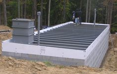 Building a bomb shelter? We manufacture all of the critical components you need to outfit your underground shelter - blast doors, NBC filter, etc. Underground Bunker Plans, Underground Shelter, Survival Life Hacks, Survival Tools, Vault Doors, Steel Trusses, Concrete Ceiling, Bomb Shelter, Safe Room