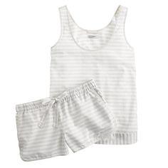 J.Crew - Vintage cotton pajama short set