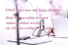 Wie du mit deinem Herzensthema on- und offline bekannt wirst und dich als Expertin positionierst, Interview mit Tanja Häußler
