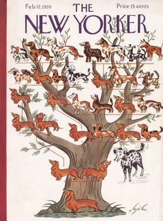 The New Yorker - Saturday, February 12, 1938 - Issue # 678 - Vol. 13 - N° 52 - Cover by : Constantin Alajalov