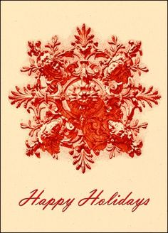 Holiday Cards Architectural