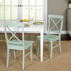 Shop for Simple Living Albury Dining Chairs (Set of 2). Get free shipping at Overstock.com - Your Online Furniture Outlet Store! Get 5% in rewards with Club O! - 17262414