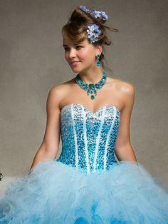 Lindos vestidos de 15 años para jovencitas | Moda 2014