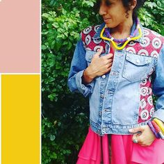 Did nail this look or what? African Textiles, African Fabric, Black Girls Rock, Black Girl Magic, South African Fashion, Fabric Jewelry, Slay, Color Inspiration, Color Pop