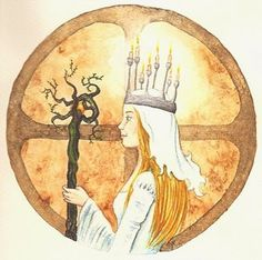 """Imbolc or """"in the womb"""" is said to refer to the growing bellies of the Ewes who were kept by the the Celts and so important to their lively hood. It is also called Lá Fhéile Muire na gCoinneal in Irish, which translates to the feast day of Bride."""