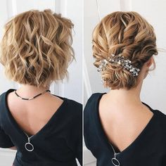 Your wedding look is one of the most important ones, so it should be flawless. With these wedding hairstyles inspired by recent runaways, you will look gorgeous and stylish. All you need is to choose the look that fits you the majority of! Elegant Wedding Hair, Short Wedding Hair, Wedding Hair And Makeup, Bridal Hair, Hair Updos For Wedding, Mother Of The Groom Hairstyles, Mother Of The Bride Hair, Bride Hairstyles, Hairstyle Ideas