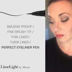 Perfect eyeliner pen, Limelight by Alcone