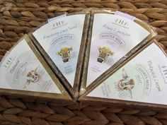 Smile and say cheese!  Farmhouse Fresh Whole Milk and Goats Milk Soaps