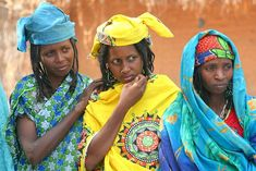 Central African Republic Tribes   African Women Clothing