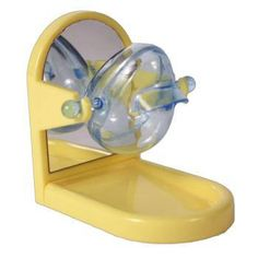 JW Pet Tip and Treat is a treat dispensing bird toy. Bird moves rocking dispenser and treats exit. Great for parakeets, cockatiels and other similar sized birds.