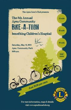 Lesson 8 Bike A Thon For Jessica Sprague Art Of Poster Design Class