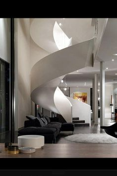 Amazing homes. Inside staircase