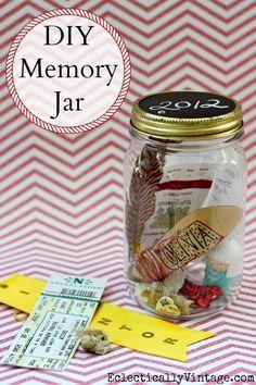 DIY Memory Jar - per