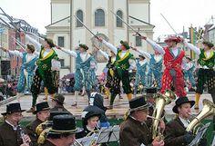 Baile de las espadas, Alemania.