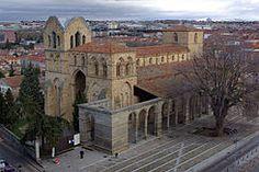 Basílica de San Vicente  Ávila España Siglo XIV
