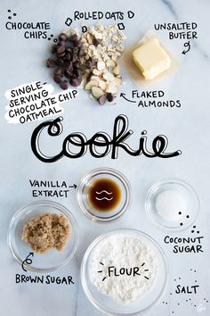 But we won't blame you if you double that recipe. #singleserving #cookie http://greatist.com/eat/chocolate-chip-cookie-for-one-recipe