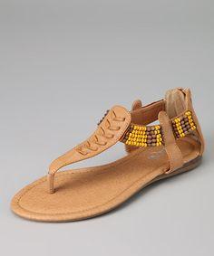 Realplay  -  Camel Kiki-06 Sandal - Zulily