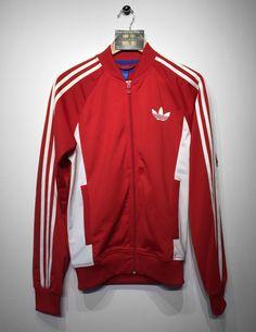 Adidas track jacket size Small (but Fits Oversized) £20  Website➡️ www.retroreflex.uk  #adidas #trefoil #vintage #oldschool #retro #truevintage