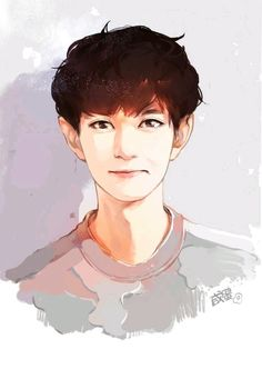 Chanyeol fanart<this is so good Character Illustration, Digital Illustration, Exo Fan Art, Character Concept, Character Design, Bts And Exo, Kpop Fanart, Chanbaek Fanart, Disney Fan Art