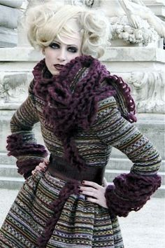 Dorothee Wirth - blog, Hand crocheted by Dorothee Wirth.
