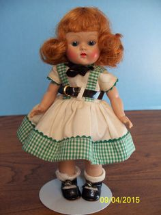 "1953 ""Hope"" from Kindergarten School Series #DollswithClothingAccessories"