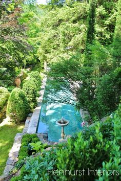 I love this pool shape with a simple water feature installed at one end to create a nice trickling sound