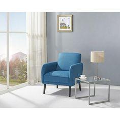 Tacoma Blue Arm Chair