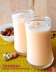 Thandai recipe. This