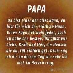 Papa gedichte zum vatertag
