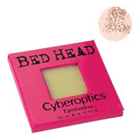 Tigi Bed Head Cosmetics Eyes - Cyberoptics Eye Shadow Vanilla 4.5g Tigi Bed Head Cosmetics Eyes Cyberoptics Eye Shadow Vanilla 4.5g - Come on try colour with a kick! Energise your eyes with Cyberoptics. Use them wet or dry for an intense or sheer look! Cyber Vanilla  http://www.comparestoreprices.co.uk/cosmetics/tigi-bed-head-cosmetics-eyes--cyberoptics-eye-shadow-vanilla-4-5g.asp