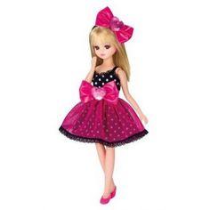 Takara-Licca-Rika-Chan-9-Japanese-Doll-Blythe-Pullip-LD-06-Pink-Jewelry