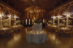 Fearrington Barn--- A barn reception would be awesome. I love this...