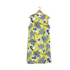 what a gorgeous print! special vintage 60s shift dress. £60
