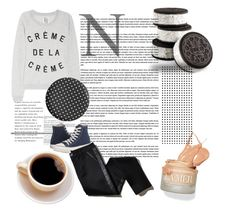 """Untitled #26"" by dinka-linka ❤ liked on Polyvore featuring Zoe Karssen, Converse and TROA"