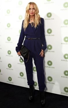 Rachel Zoe..I love that she loves black! Aren't you tired of people asking you, why don't you try a print?  I get it Rache!