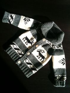 Cowichan style sweater for wee ones!