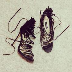 Strappy Heels...sooooo hot!