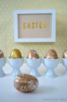 Marbled Easter Egg Tutorial