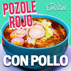 Easy Posole Recipe, Posole Recipe Chicken, Grilled Chicken Recipes, Pork Recipes, New Recipes, Cooking Recipes, Menudo Recipe Authentic, Picadillo Recipe, Appetizer Recipes