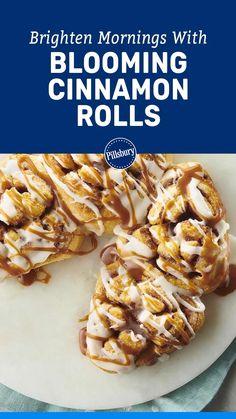 Breakfast Menu, Breakfast Recipes, Snack Recipes, Cooking Recipes, Pillsbury Recipes, Tasty, Yummy Food, Sweet Bread, Cinnamon Rolls