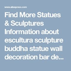 Find More Statues & Sculptures Information about escultura sculpture buddha statue wall decoration bar deer clothing store Decor animal head christmas decorations for home,High Quality decorations for home,China decoration bar Suppliers, Cheap decorative animal from Wooden box / crafts Store on Aliexpress.com