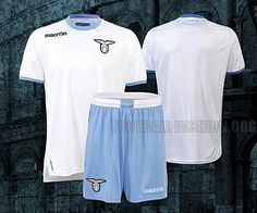 SS Lazio MACRON 2012 3rd Kit ... a superb alternate kit for Lazio, white is the best color for alternate.