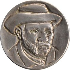 ORAZIO ANGELO - VINCENT VAN GOGH - NO DATE Hobo Nickel, Vincent Van Gogh, Famous People, Buffalo, Weird, Coins, Auction, Portraits, Carving