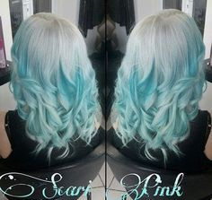 silver+to+turquoise+blue+ombre