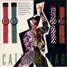 Coleccion POP Swatch Otoño-Invierno 1988-89 by Mataparda, via Flickr