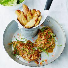 Roast Chicken & Chips recipe with jerk seasoning & spring onion gravy | Food | Red Online