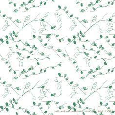 leaf vine pattern