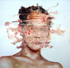 The oil paintings of Barcelona-based artist Cesar Boijo start with a portrait that is immediately destroyed, creating a mesmerizing image shifting between creation and destruction. Boijo combines r…